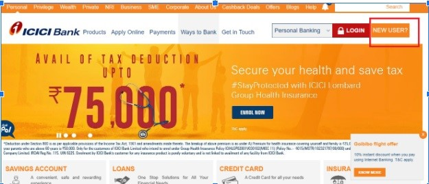 How to Register Online for ICICI Personal Loan Account